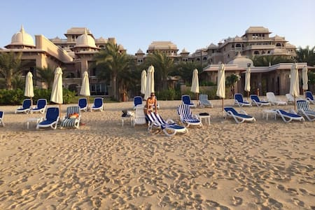 Luxury 1 BR apt with private beach on the Palm - Dubai - Apartemen