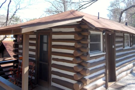 Cabin 19.  7 min to downtown AVL - Asheville - Cabaña