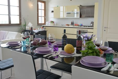 Nice Apartment in the city center of Pienza - Lejlighed