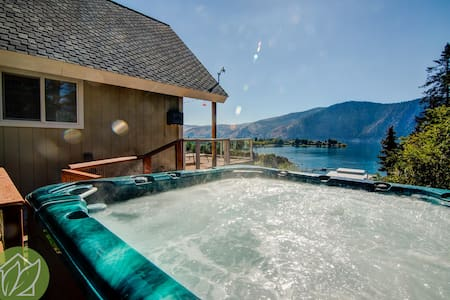 Amazing View Cottage with Hot Tub - Ház