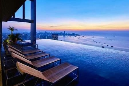 At the heart of Pattaya.high floor - pattaya - Apartment