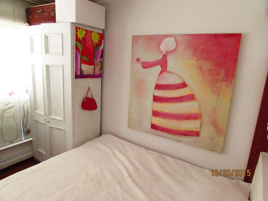 Your bedroom  (with new painting)