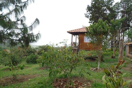 Casa en el Aire, naturaleza y aire puro - Girón - Cabin