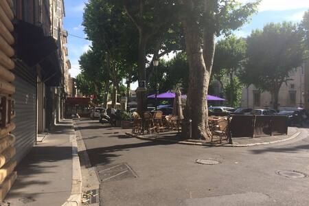Dormir en mezzanine à Aix ! - Aix-en-Provence - Apartment