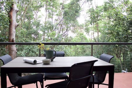 Eco romantic rainforest, surf & beach retreat - House