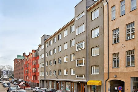 Nice apartment in center of Helsinki - Wohnung