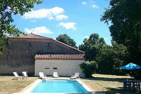 Pépéré-Haut, Country House in Gascony, SW France - Haus