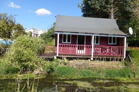 cottage au bord du canal Louis XIV - Bailleau-Armenonville - Bungalow