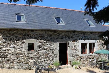 2 bed holiday let central Brittany - Huis