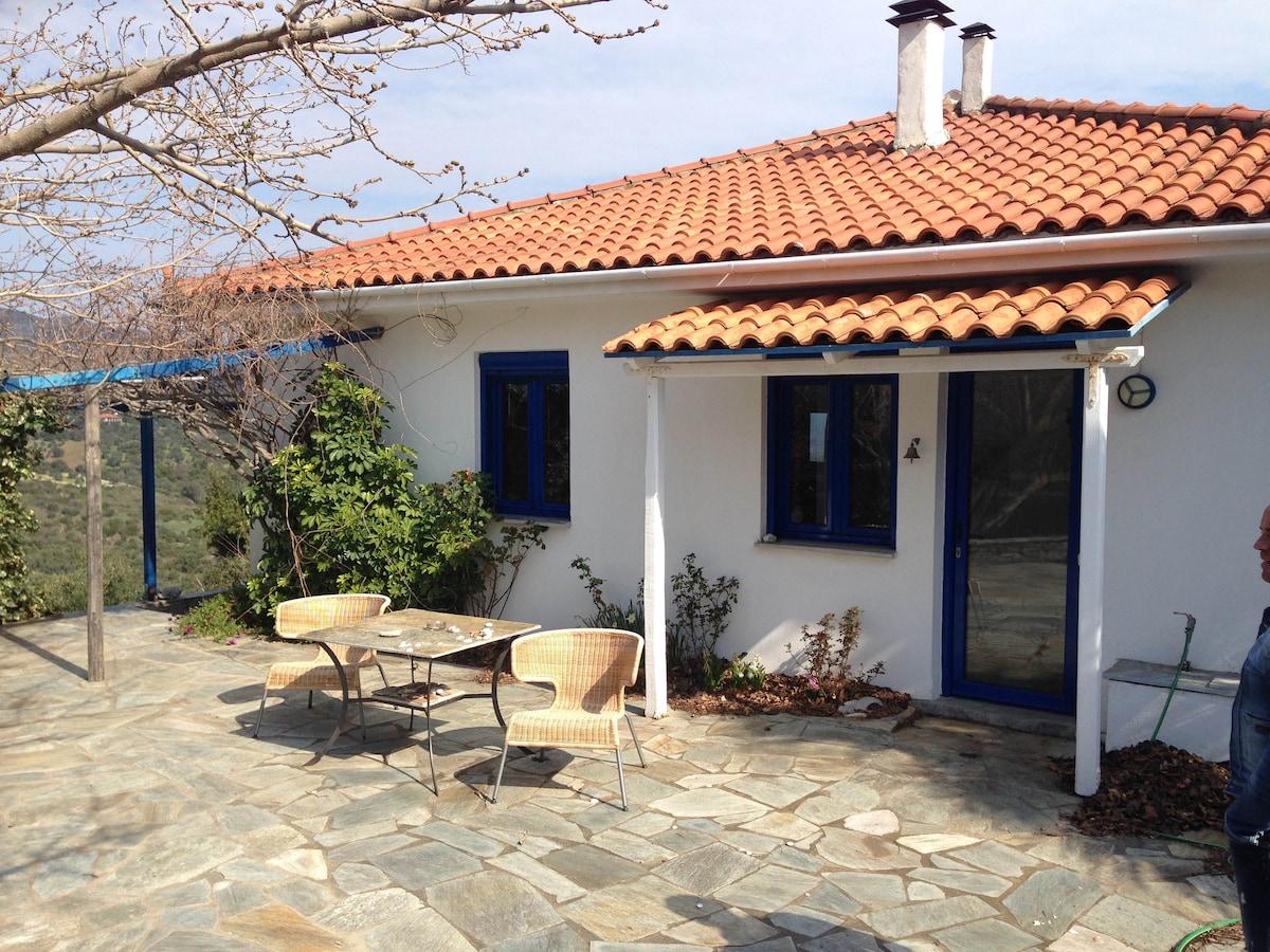 Купит дом с участком у моря в греции