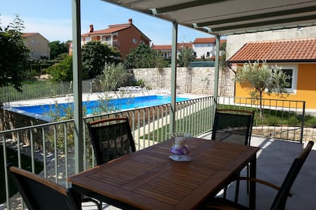 Lavender dreams: new, comfortable + big pool - Savudrija