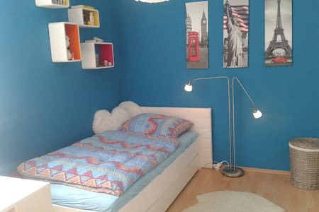 Nice, modern, quite single room in the green North - Apartament