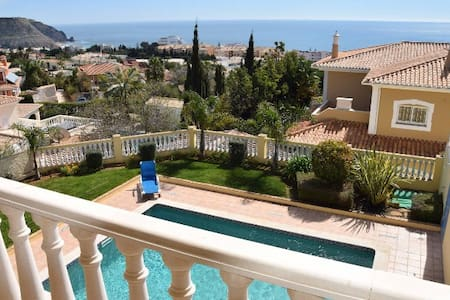 NEW - HOUSE WITH SEA VIEW & PRIV. POOL - Luz