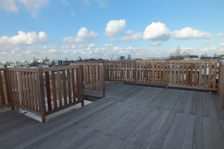 Modern, spacious loft with rooftop in hip area! - Amsterdam - Wohnung
