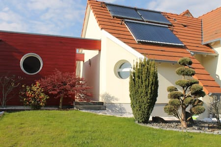 Maison design au calme à 10 mn de Strasbourg - Breuschwickersheim - Talo