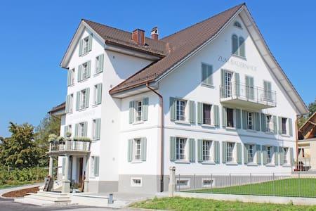 Gasthaus zum Bauernhof - Oberlunkhofen - Inap sarapan