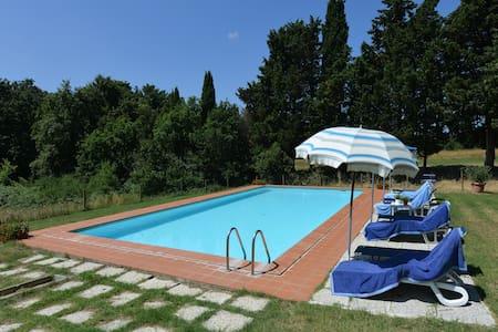 appartamento charm casale Toscano in oasi protetta - Apartment