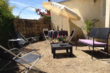 Superbe Studio avec terrasse. 10 minutes d'Annecy. - Apartemen