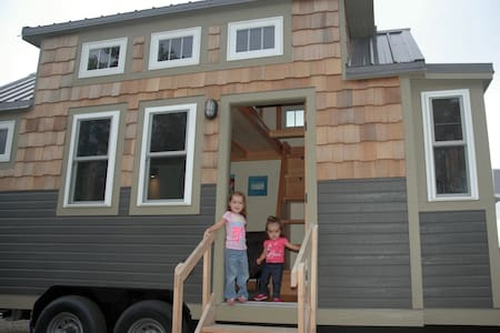 Tiny home on the prairie - House