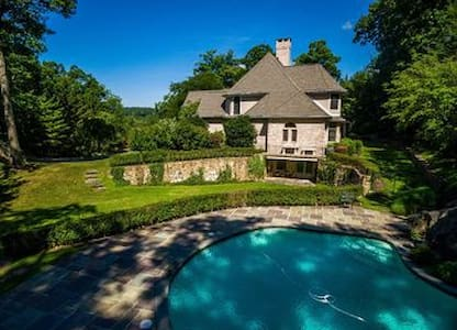 Spacious Luxurious Home, furnished or unfurnished - Armonk - Maison