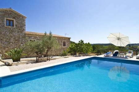Romantic,typical Finca&Pool&Panorama in GeoCentre - Villa