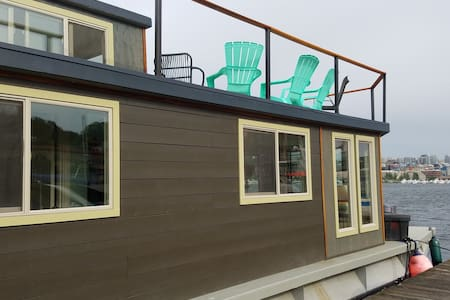 Jazzy Ginger Houseboat - Seattle - House