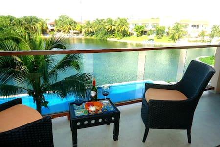 Departamento en Laguna - Puerto Aventuras - Lejlighed