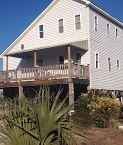 On the Canal-100 yards from Beach! - Holden Beach - Casa
