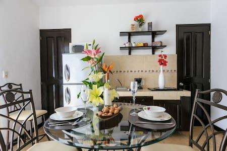 Bonito apartamento en la Quinta - Playa del Carmen - Apartment
