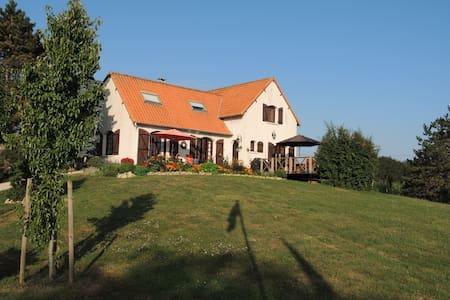 Villa Orangère, votre chambre d'hôtes - Bonneuil-Matours - Gjestehus