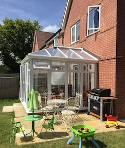 Family home, conservatory & garden - Hus