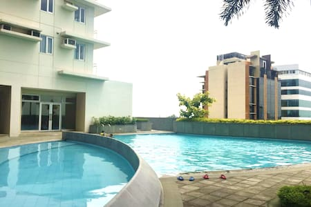 Zen Staycation at Cozy Alabang Studio Condo - Muntinlupa