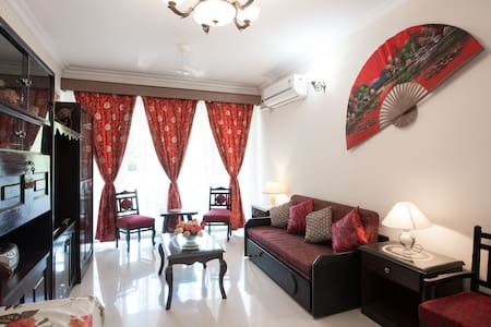 2 BHK Apartmt in Candolim with pool - Candolim - Appartement
