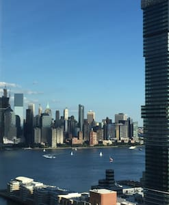 Penthouse+PrivateBath+NYC Skyline+9mins to NYC - Jersey City - Apartment