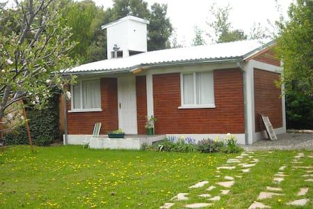 Cabaña con jardín en Bariloche