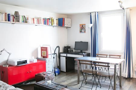 Charming flat in Paris center - Lägenhet