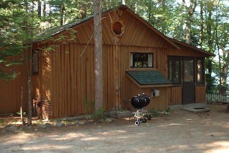 Log Cabin + HOT TUB + Fireplace + Lake = L O V E ! - Traverse City
