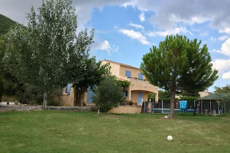 Luxury villa with private pool, gas barbecue, wifi - Banon - Villa