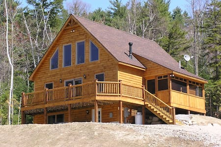 Log Style Chalet near Sunday River  - Xalet