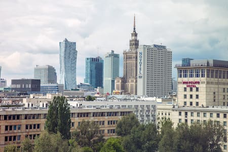Boutique Apartment-heart WARSAW,SUNNY,AMAZING VIEW - Lägenhet