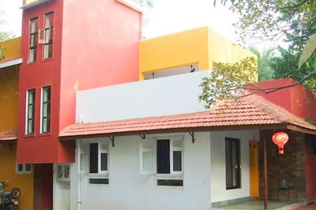 Bungalow for group accommodation in Alibaug - Bed & Breakfast