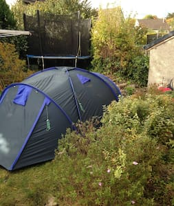 Tent near Town. - Tent