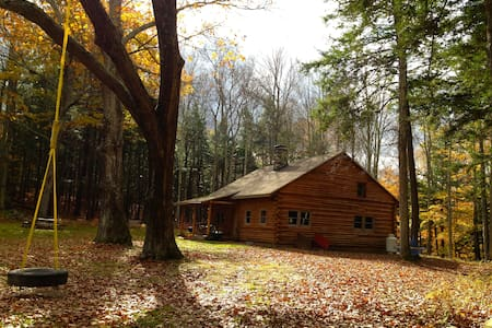 Catskills Secluded Log Cabin - Cornwallville