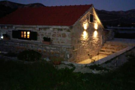 SMALL STONE HOUSE BY THE SEA! - Račišće
