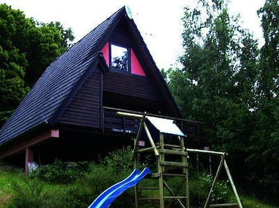 "Ferienhaus ""WINNETOU"" - Zomerhuis/Cottage"
