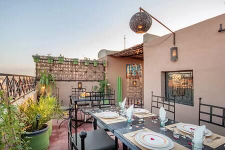 Maison de ville Medina de Marrakech - House