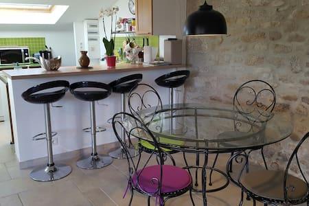 Spacious 3*studio in Breton cottage - Plobannalec-Lesconil