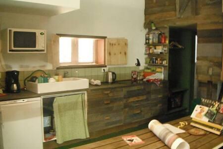 Camping Town : Logement en cabanes au centre ville - Saint-Josse-ten-Noode - Cabane