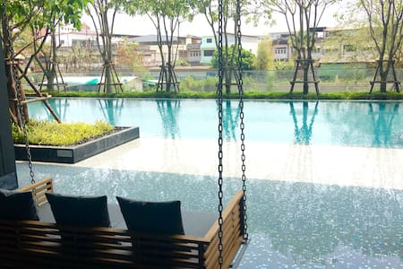 1BR Hipster Luxury Best Pool & Gym - Udon Thani - Apartment