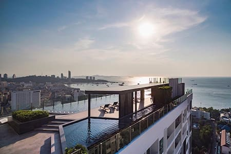 THE BASE, Central Pattaya , A15 ,1BR nice view - Appartement